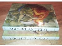 Michelangelo (The Complete Works in 2 Volumes) first edition