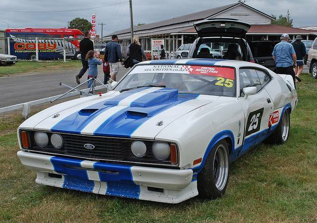 FORD FALCON COUPE COBRA REAR WING 3 PIECE STYLE 4 RACE