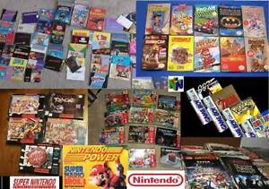 I Pay Cash for Games, Boxes, Manuals, for Video Games & Systems