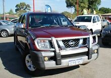 2007 Nissan Navara D40 ST-X Red 6 Speed Manual Utility Bellevue Swan Area Preview