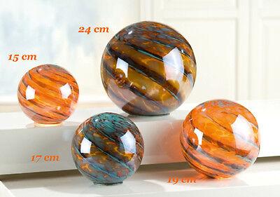 Gilde Glass sphere incl. Holiday lights 19cm Light Ball Lamp - 20165F