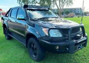 2005 Toyota Hilux GGN25R MY05 SR5 Black 5 Speed Manual Utility Berrimah Darwin City Preview