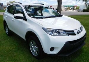 2015 Toyota RAV4 ASA44R MY14 GX AWD White 6 Speed Sports Automatic Wagon Hidden Valley Darwin City Preview