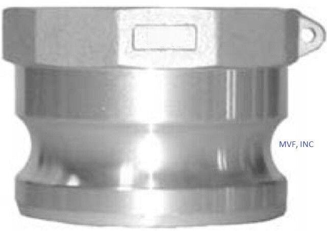"3"" Type A Camlock Female NPT x Male Adapter Aluminum, Hose <A300IAL"