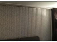 Verical Living Room Patio Door Blinds