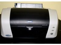 Epson stylus printer C82 inkjet Printer. Very fast for black &white and colour.