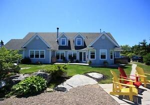 22 Basin Vista Drive Williamswood oceanfront on 4.5 acres