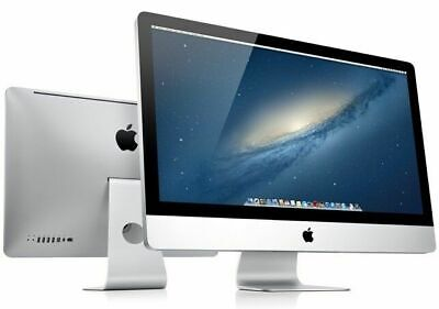 "Apple iMac A1311 21.5"" Mid 2011 Intel core i5 2.5GHz 12 GB RAM 500GB SATA Webcam"