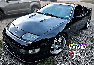 Vvivid 5ft X 10ft Black Gloss Vinyl Car Wrap Decal