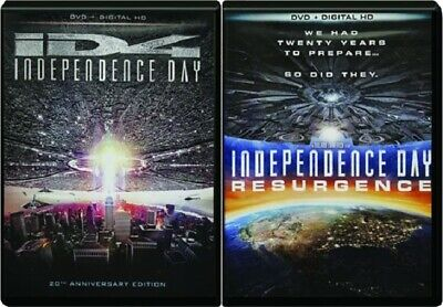 Independence Day / Independence Day : Resurgence double dvd set- NEW -
