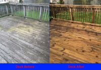 Deck & Fence Staining and Vinyl Siding Cleaning