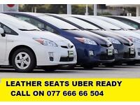 PCO CARS HIRE RENT-TOYOTA PRIUS LOW MILEAGE CARS UBER READY