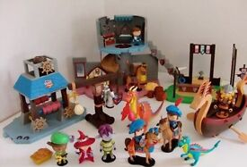 Huge Mike The Knight Play Set Bundle