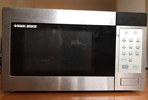 Black and Decker Microwave Woolloomooloo Inner Sydney Preview