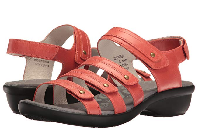Women's Propet® Aurora WSX003L With Ortholite Coral Sandals Size 8.5