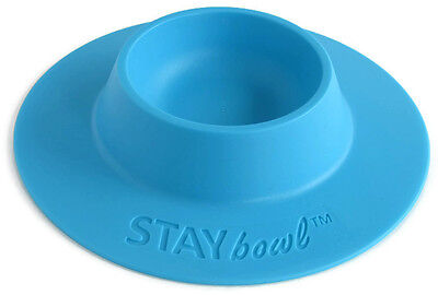 (STAYbowl Tip-Proof Bowl for Guinea Pigs, Hedgehogs and Small Pets - Blue New)