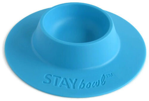 STAYbowl Tip-Proof Bowl for Guinea Pigs, Hedgehogs and Small Pets - Blue New