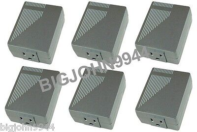 Factory Plug In Bundle - 6 Pack X10 PRO XPPF 5 Amp Plug-In Line Noise Filter Factory Fresh
