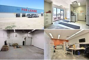 107 Hodsman Road - Shop Space with office  for Lease in Regina!