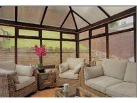 6-piece Rattan Conservatory Furniture