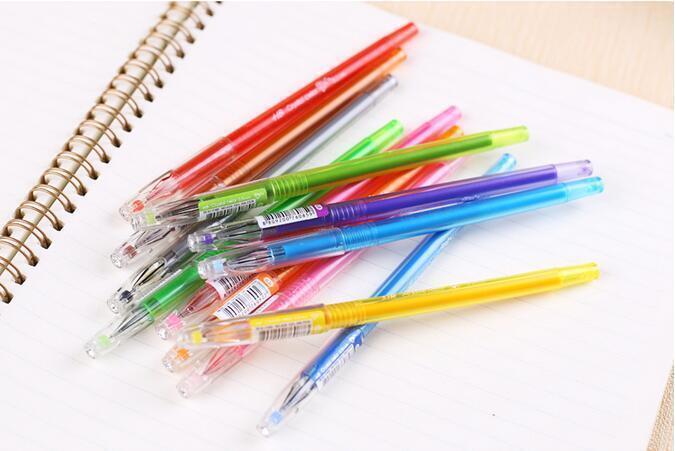 Rainbow Color Ink Gel Pens