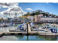 Torquay 1 bedroom Flat Town Centre available 1st Augist 2016; H.B. Accepted, kids and pets 455 pcm