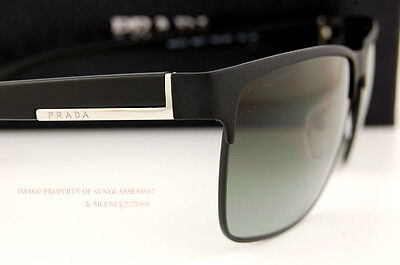 Brand New Prada Sunglasses 51O 51OS FAD 3M1 MATTE BLACK GRAY GRADIENT LENSES Men on Rummage