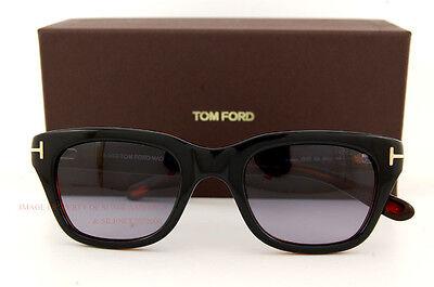 Brand New Tom Ford Sunglasses FT 237 Snowdon Color 05B BLACK for Men