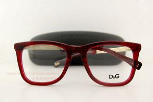 brand new d g eyeglasses frames dd 1231 550