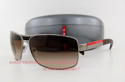 Brand New Prada Sport Linea Rossa Sunglasses PS 54I 54IS 5AV6S1 BROWN for (6s1 Prada Sunglasses)