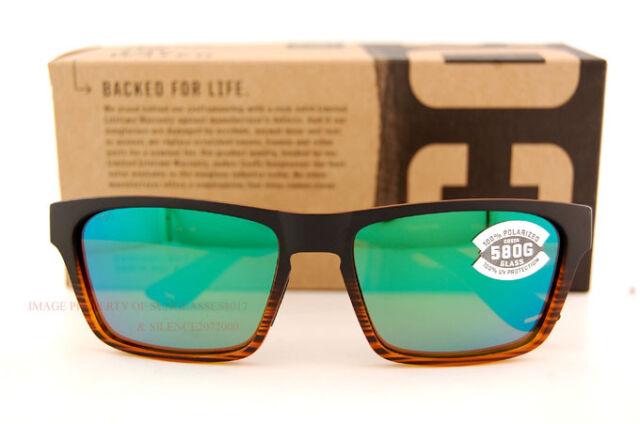 polarized sunglass lenses 5pi1  New Costa Del Mar Fishing Sunglasses HINANO Coconut Green Mirror 580G  POLARIZED