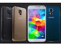 SAMSUNG GALAXY S5 UNLOCKED MINT CONDITION COMES WITH WARRANTY & RECEIPT`