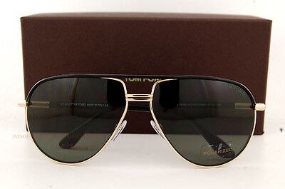 c2fc630318a Brand New Tom Ford Sunglasses TF 0285 285 Cole 01J BLACK GOLD for Men