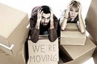 We can help you load or unload your moving truck
