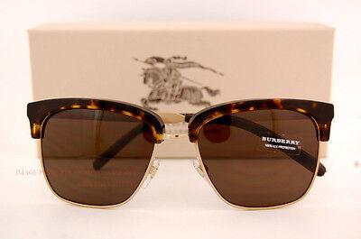 065c2e2bc41e Brand New Burberry Sunglasses BE 4154Q 3002 73 Havana Gold Brown Lenses for  Men