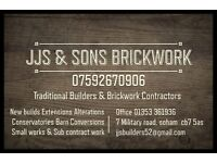 Brickwork & General building services