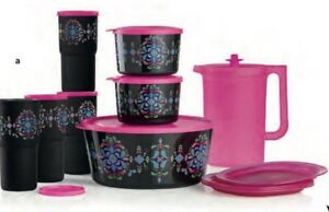 Tupperware Kaliopi Fiesta Collection 12-Pc Set BRAND NEW