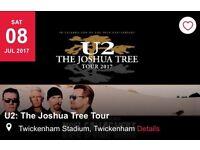 1 x standing ticket U2 Twickenham Sat 8th July
