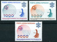 Vaticano 1978: P.aerea Telecomunicazioni Serie 3 Val. Nuovi Perfetti -  - ebay.it