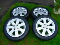 Hi for sale are my corsa c alloys