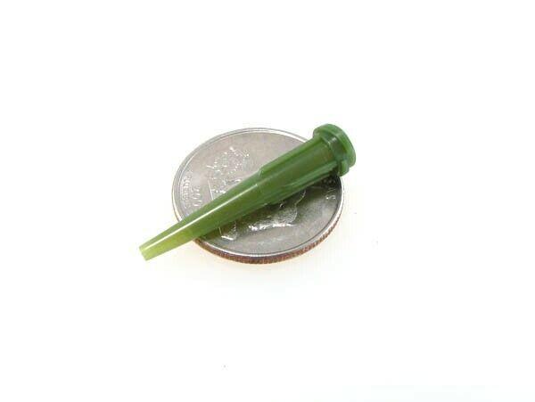 14G Glue Solder Paste Dispensing Needle Tip Threaded Luer Lock - Pack of 20