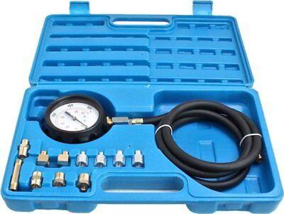 S-AT24PT Oil Pressure Meter Test Tool Set Tester Gauge Diesel Petrol Car Garage