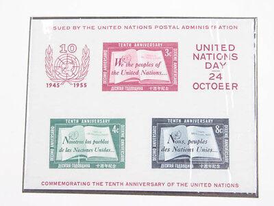 UNO New York 1951/83 postfrische Sammlung mit Block 1 und UNTEA Serie