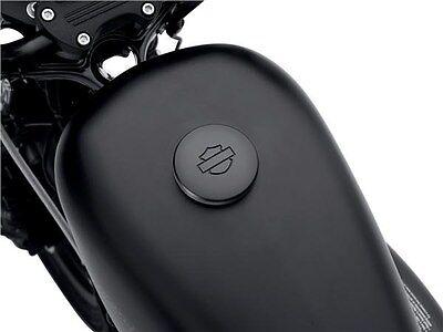 Harley New Oem Black Diamond Gas Tank Fuel Cap Dyna Sportster Softail Heritage