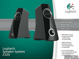 Logitech Z320 Speakers- Excellent Condition - only 1.5 yrs old