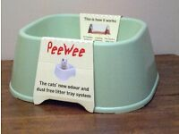 PeeWee Ecoclassic high-sided cat litter box