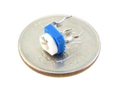 500k Ohm Single Turn Trimpot Phenolic Trimming Potentiometer Pack Of 5