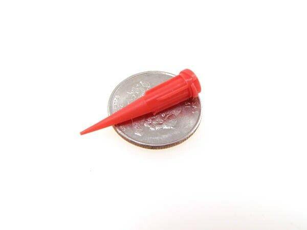 25G Glue Solder Paste Dispensing Needle Tip Threaded Luer Lock - Pack of 20