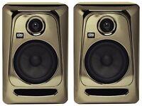 KRK RP5 G3 Monitors * Limited Edition Black & Gold Version * New