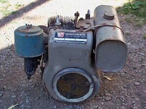 Wisconsin engine for Bolens garden tractor.